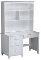 """Cottage Desk Hutch For 47"""" or 48"""" Tops (bead board back) Product Image"""