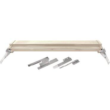 Frigidaire Bisque Slide-In or Drop-In Range Adjustable Metal Backguard