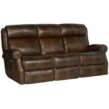 McGwire Power Motion Sofa in #6 Antique Brass