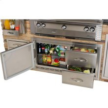 BUILT IN UNDER GRILL REFRIGERATOR