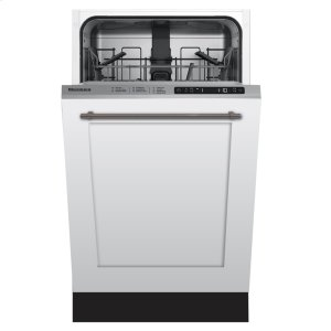 "Blomberg Appliances18"" ADA Tub,top control, 5 cycle, full integrated panel overlay, 48dBA"