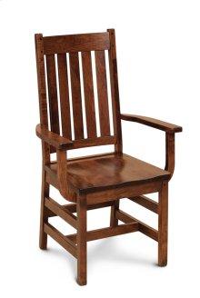 Grant Arm Chair, Fabric Cushion Seat