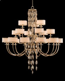 Counterpoint Twenty-One-Light Chandelier
