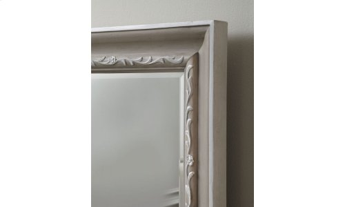 Chateaux Landscape Mirror - Grey