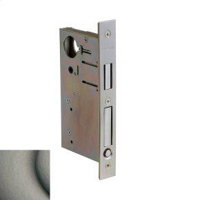 Antique Nickel 8632 Pocket Door Lock with Pull