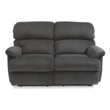 Chicago Fabric Power Reclining Loveseat