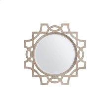 Juniper Dell Accent Mirror - Tarnished Silver Leaf