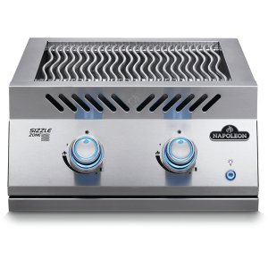 Napoleon GrillsBuilt-in 700 Series Dual Infrared Burner with Stainless Steel Cover , Stainless Steel , Natural Gas