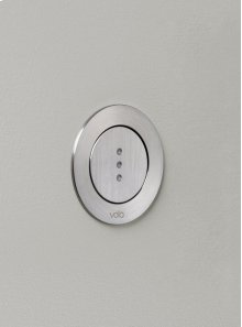 Electronic cistern flush - Grey
