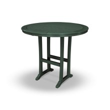 """Green 48"""" Round Bar Table"""