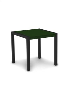 "Textured Black & Green MOD 30"" Dining Table"