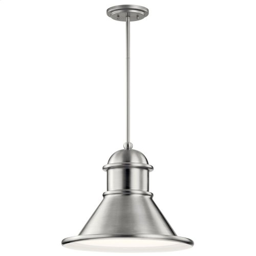 Northland 1 Light Pendant Brushed Aluminum