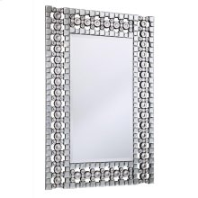 Modern 30.8 in. Contemporary Mirror in Clear