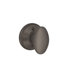 Siena Knob Non-turning Lock - Oil Rubbed Bronze