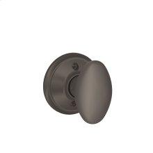 Siena Knob Non-turning Lock - Oil Rubbed Bronze