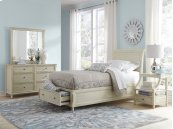 Avignon Ivory Twin Storage Bed