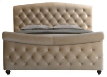 Diamond King Sleigh Bed