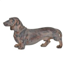On Guard Dachshund Statue