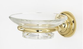 Charlie's Collection Soap Holder A6730 - Polished Brass