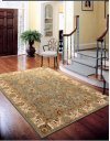 LUMIERE KI602 SLATE BLUE RECTANGLE RUG 3'6'' x 5'6''