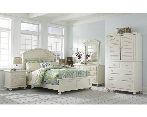 Seabrooke Media Hutch and Chest