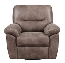 Emerald Home Nelson Swivel Glider Almond Brown U3472-04-05
