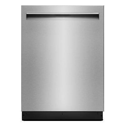"""JennairLustre Stainless 24"""" Trifecta Pocket-Handle Dishwasher, 38 Dba"""