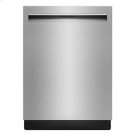 "Lustre Stainless 24"" TriFecta Pocket-Handle Dishwasher, 38 dBA Product Image"