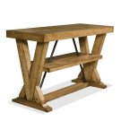 Summerhill Console Table Canby Rustic Pine finish Product Image