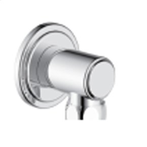 Polished Chrome Wallace (Series 15) Hand Shower Wall Outlet
