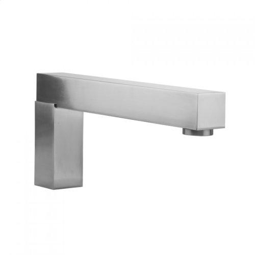 "Polished Brass - CUBIX® Deck Mount ""Over The Top"" Tub Spout"