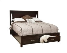 Amesbury Bed (with 2 Drawer Storage)