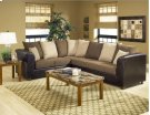 Trapper Brown / Bulldozer Java / Mocha Sectional Product Image