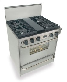 "30"" All Gas, Convect, Sealed Burners, Stainless Steel"