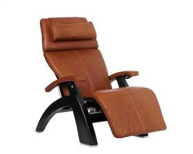 Perfect Chair PC-600 Omni-Motion Silhouette - Cognac Premium Leather - Matte Black
