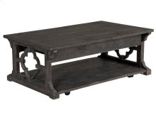 Lift Top Cocktail Table w/Casters