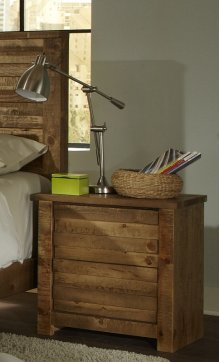 Nightstand - Driftwood Finish