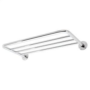 Polished Chrome Hotel Shelf Mounting Kit
