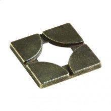 Quarter Circles (GT)(F) - TT426 White Bronze Brushed