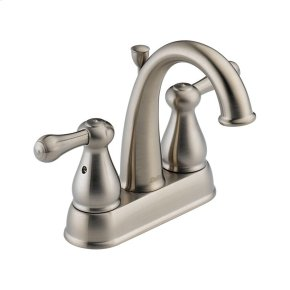 Stainless Two Handle Centerset Lavatory Faucet