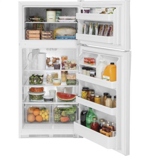 SCRATCH & DENT- GE® 20.8 Cu. Ft. Top-Freezer Refrigerator