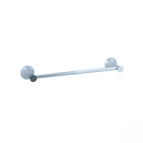 """Brookhaven - Towel Bar With Crown Posts 18"""" - Polished Nickel"""
