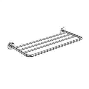 Polished Nickel Hotel Shelf Mounting Kit