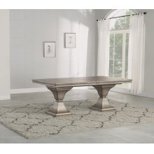 Vogue Rectangular Pedestal Dining Table
