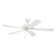 "52"" Basics Fan Collection 52 Inch Kichler Basics Fan SNW"