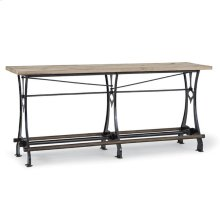 Lfd - Stand Up Bar With Recycled Wood Top