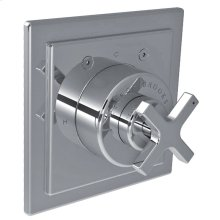 Single cross handle pressure balance trim only, to suit M1-4100 rough