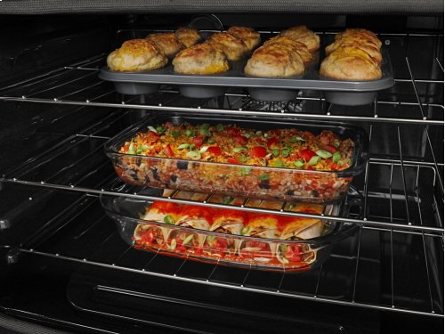 30-inch Wide Double Oven Electric Range with Convection - 6.7 cu. ft.