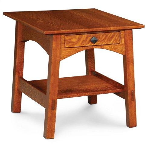 McCoy 1-Drawer End Table