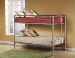 Universal Twin/Twin Bunk with Dresser and Mirror